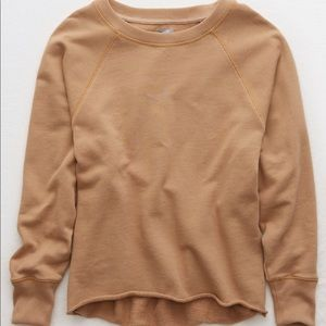 aerie Tops - aerie raw cut city sweatshirt